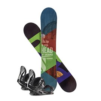 Snowboard Head Rowdy JR 2019 + Fixation336608