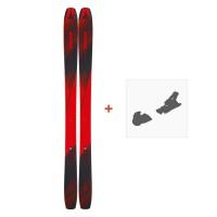 Ski Atomic Backland 107 2019 + Fixation de skiAAST01038
