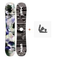 Snowboard Yes Ghost 2019 + Snowboard BindungenSY190