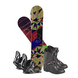 Snowboard Head Defiance Youth 2019 + Bindings + boots336328