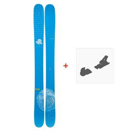 Ski Line Sir Francis Bacon Shorty 2019 + Fixation de ski
