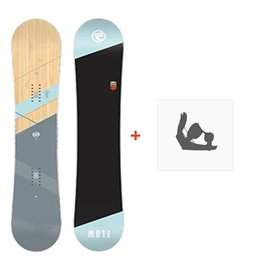 Snowboard Flow Canvas 2018 + Fixation de SnowboardSF180193