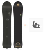 Snowboard Flow Enigma 2018 + Snowboard BindungenSF180152