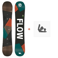 Snowboard Flow Era 2018 + Snowboard BindungenSF180146