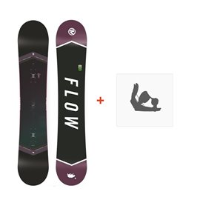 Snowboard Flow Venus Black 2018 + Fixation de SnowboardSF180210