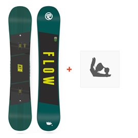 Snowboard Flow Micron Chill 2018 + Snowboard BindungenSF180143