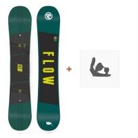 Snowboard Flow Micron Chill 2018 + Fixation de SnowboardSF180143