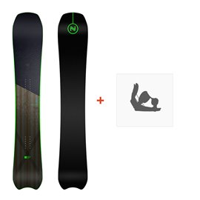 Snowboard Nidecker Spectre 2019 + Fixation de SnowboardSN180153