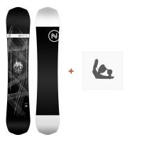 Nidecker Snowboard Era 2019 + Snowboard BindungenSN190135