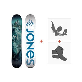 Jones Splitboards Discovery 2020+ Fixations de Splitboard + PeauxSJ190270