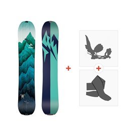 Jones Splitboards Women'S Solution 2019+ Fixations de splitboard + peauxSJ190240