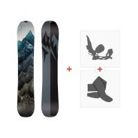 Jones Splitboards Solution 2019+ Fixations de splitboard + peauxSJ190277