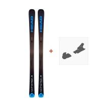 Ski Head Monster 83 Ti 2019 + Fixation de ski315168