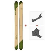 Ski Faction Candide 4.0 2019 + Touring Bindings + Skins