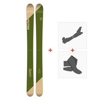 Ski Faction Candide 5.0 2019 + TourenBindungen + Felle
