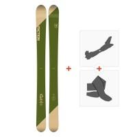 Ski Faction Candide 5.0 2019 + Touring Bindings + Skins