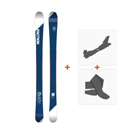 Ski Faction Candide 1.0 JR 2018 + Touring Bindings + SkinsSKI-1718-CT10JR