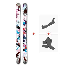 Ski Faction Ambit 2017 + Touring Bindings + Skins