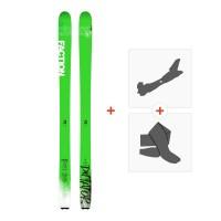 Ski Faction Dictator 1.0 x 2019 + Fixations randonnée + Peau