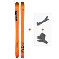 Ski Faction Dictator 3.0 2019 + TourenBindungen + Felle