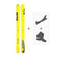 Ski Faction Dictator 4.0 2019 + TourenBindungen + Felle
