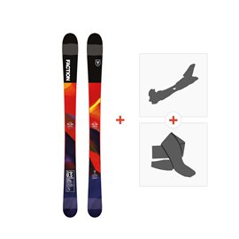 Ski Faction Prodigy 0.5 2019 + Touring Bindings + Skins