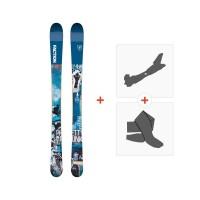 Ski Faction Prodigy 0.5 x 2019 + TourenBindungen + Felle