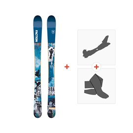 Ski Faction Prodigy 0.5 x 2019 + Touring Bindings + Skins
