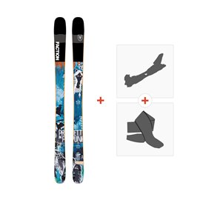 Ski Faction Prodigy 1.0 x 2019 + TourenBindungen + Felle