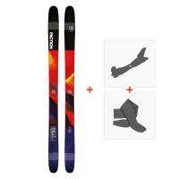 Ski Faction Prodigy 2.0 2019 + Fixations randonnée + Peau