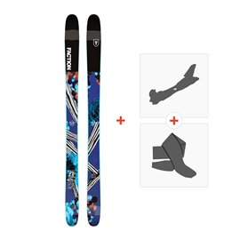Ski Faction Prodigy 2.0 x 2019 + TourenBindungen + Felle