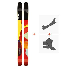 Ski Faction Prodigy 4.0 2019 + Fixations randonnée + Peau