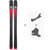 Ski Volkl Mantra V-Werks 2020 + Fixations de ski randonnée + Peaux118422