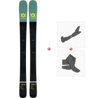 Ski Volkl Kenja Flat 2019 + Fixations de ski randonnée117011