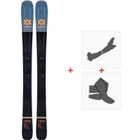 Ski Volkl Secret 2019 + Fixations de ski randonnée117011
