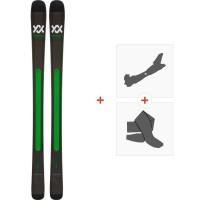 Ski Volkl Kanjo 2019 + Fixations de ski randonnée117011