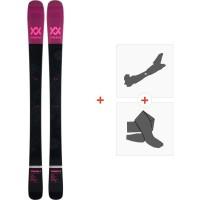 Ski Volkl YUMI FLAT 2019 + Fixations de ski randonnée117011
