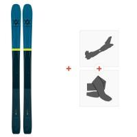 Ski Volkl 100Eight 2020 + Fixations de Ski Randonnée118424