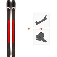 Ski Völkl M5 Mantra 2019 + Fixations de ski randonnée118402