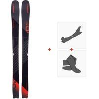 Ski Elan Ripstick 102 W 2020 + Fixations de ski randonnéeADEDXY