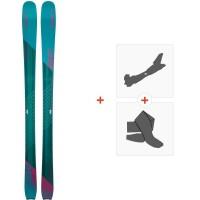 Ski Elan Ripstick 86 W 2019 + Fixations de ski randonnéeADGDYF