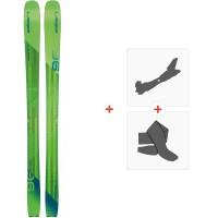 Ski Elan Ripstick 96 2020 + Tourenbindungen + FelleAD1DXG18