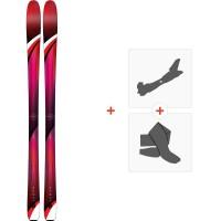 Ski K2 Alluvit 88 2019 + Fixations randonnée + Peau10A0105.101