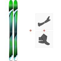 Ski K2 Fulluvit 95 Ti 2019 + Fixations de ski randonnée10C0501.101.1