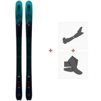 Ski Salomon T MTN Explore 95 2020 + Fixations de ski randonnée