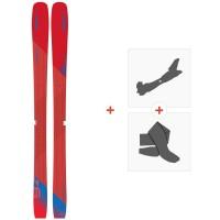 Ski Elan Ripstick 94W 2019 + Fixations de ski randonnéeAD1DYC