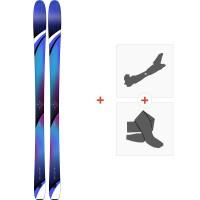 Ski K2 Thrilluvit 85 2019 + Fixations de ski randonnée10C0503.101.1