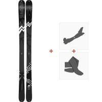 Ski K2 Press 2019 + Fixations de ski randonnée10C0304.101.1