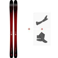 Ski K2 Pinnacle 85 2019 + Fixations de ski randonnée10C0104.101.1