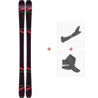 Ski K2 Missconduct 2019 + Fixations de ski randonnée10C0700.101.1